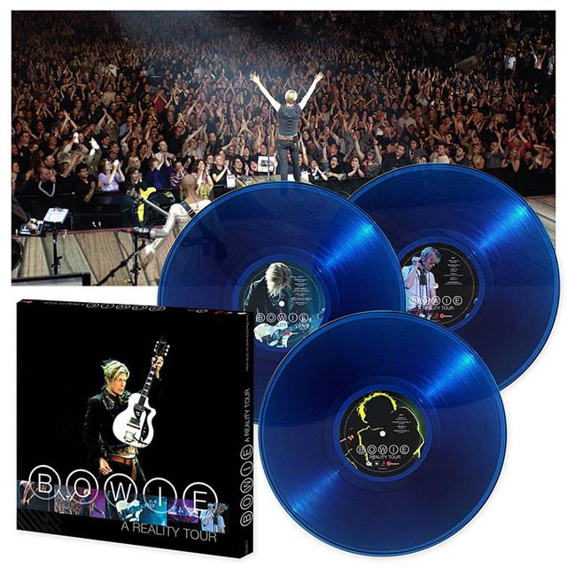 David Bowie / A Reality Tour - 180 Gram Audiophile Translucent Blue Vinyl box set