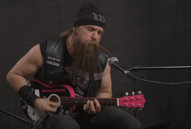 Zakk Wylde - Hello Kitty Mini-Guitar
