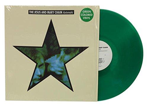 ジーザス&メリー・チェイン『automatic』がアナログ・レコード再発、グリーン・ヴァイナル仕様 Amass
