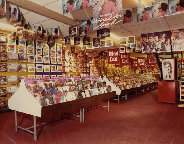HMV Stores Looked Like in the UK from early 1980s