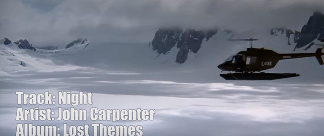 John Carpenter's The Thing Rescored with Lost Themes
