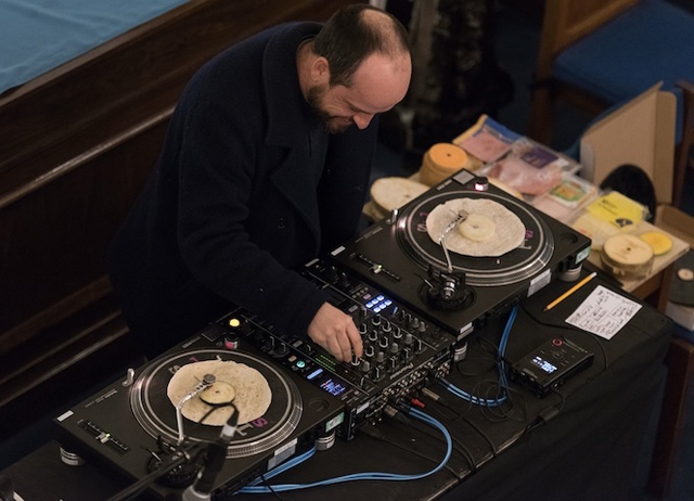 Matthew Herbert Played A DJ Set On Edible Vinyl