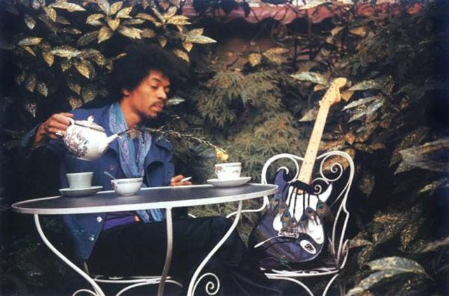 Jimi Hendrix - Sept 17th, 1970. Samarkand Hotel, London