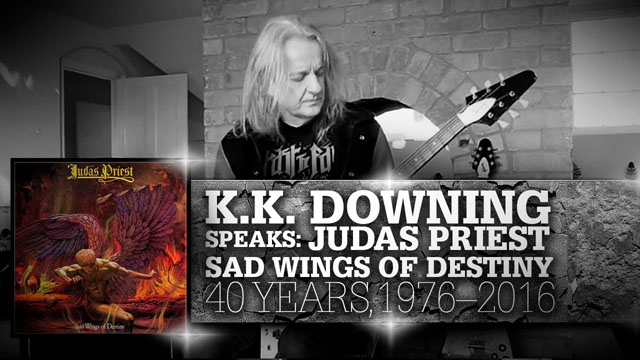 K.K.Downing on Sad Wings of Destiny