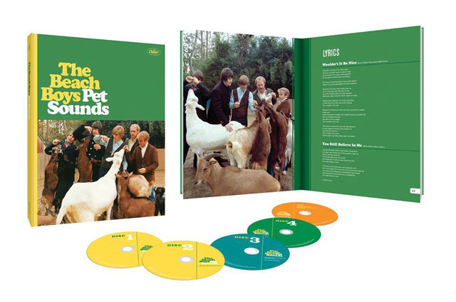 The Beach Boys / Pet Sounds (50th Anniversary Deluxe Edition) 4CD/Blu-ray Audio