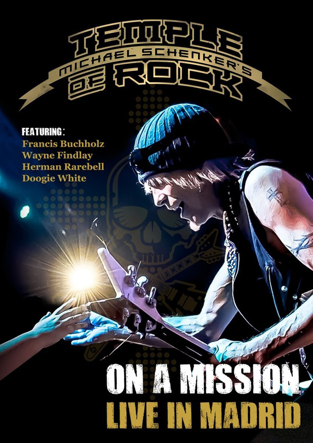 Michael Schenker's Temple Of Rock / On A Mission: Live In Madrid