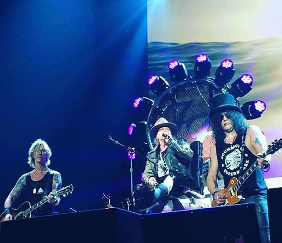 Guns N' Roses - 04/08 - Las Vegas, NV @ T-Mobile Arena