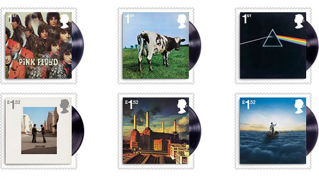 Pink Floyd Special Stamps