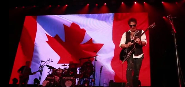Journey's Neal Schon performs