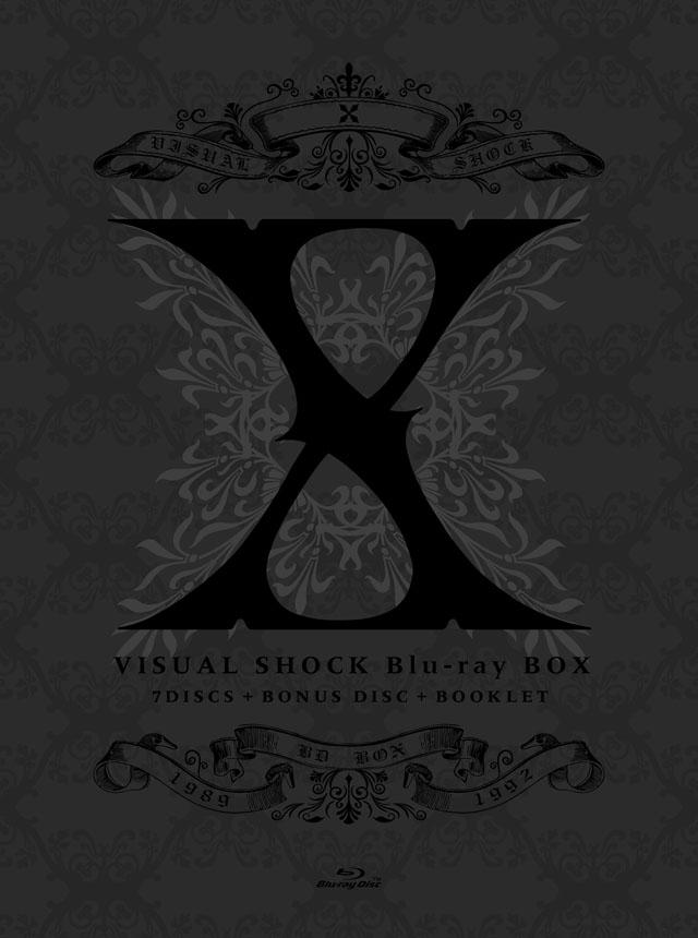 X / VISUAL  SHOCK  Blu-ray  BOX  1989-1992