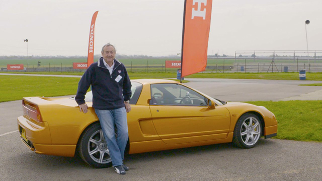 Pink Floyd's Nick Mason and the NSX