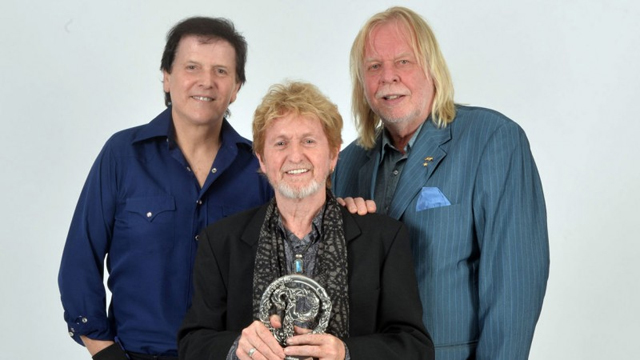 Trevor Rabin, Jon Anderson and Rick Wakeman (Photo: Kevin Nixon)