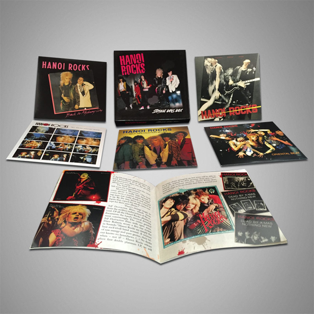 Hanoi Rocks / Strange Boys Box [5CD]