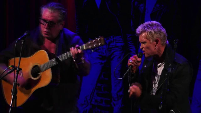 Billy Idol and Steve Jones