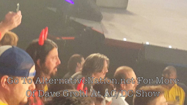 Dave Grohl Rocks Out To AC/DC