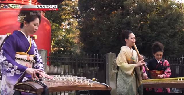 尺八+琴+十七弦 - NHKワールド