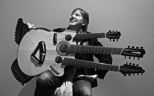 52弦ギター「メドゥーサ・ギター...