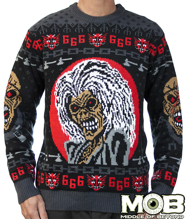 Iron Maiden Sweater - Middle of Beyond