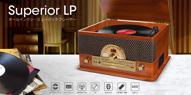 ION AUDIO - Superior LP