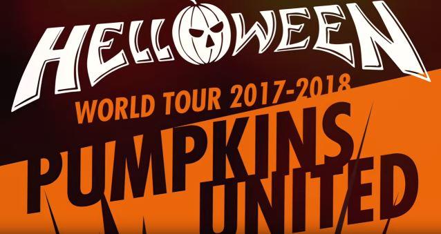 HELLOWEEN - PUMPKINS UNITED World Tour 2017 / 2018