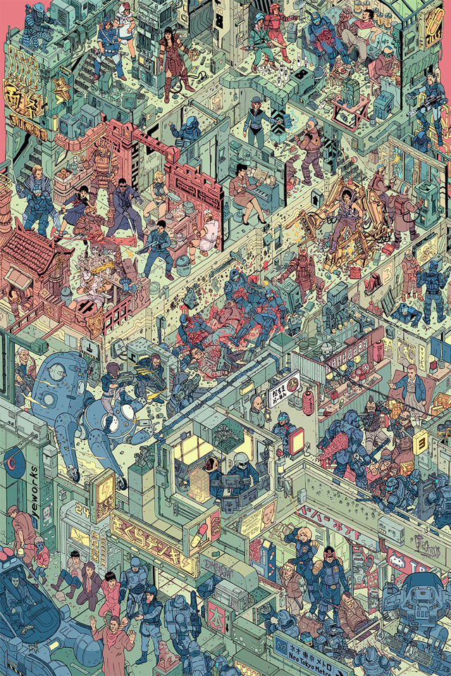 The Raid - By Josan Gonzalez and Laurie Greasley