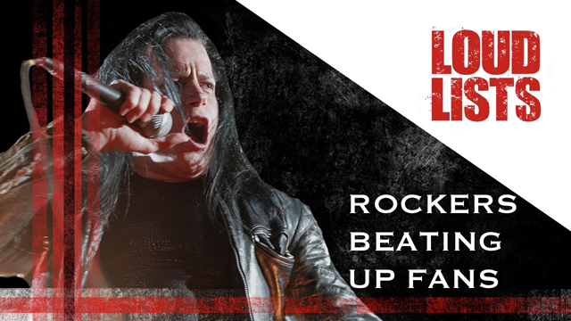 10 Times Rockers Beat Up Their Fans - Loudwire