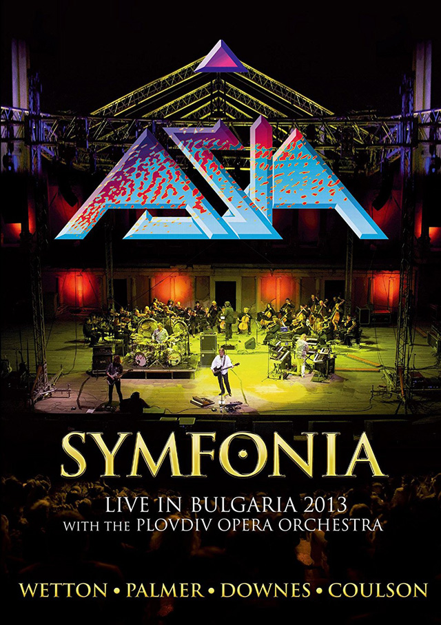 Asia / SYMFONIA - Live In Bulgaia 2013 with THE PLOVDIV OPERA ORCHESTRA