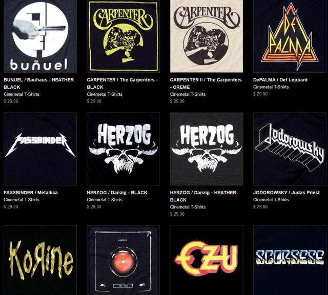 Cinemetal T-Shirts