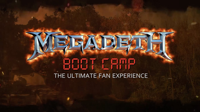 Megadeth Boot Camp