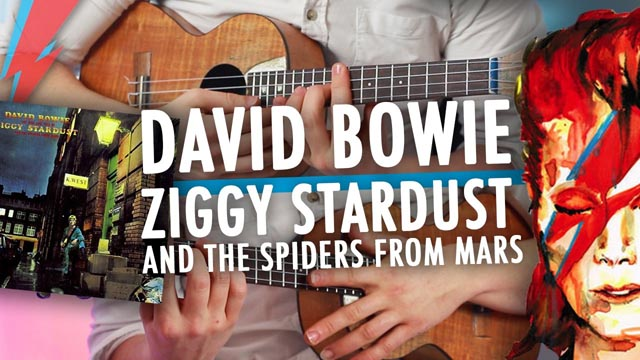 Eat.my.uke - [ David Bowie ] Ziggy Stardust - Album Medley on Ukulele