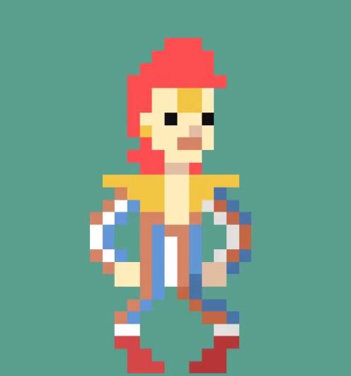 David Bowie pixels