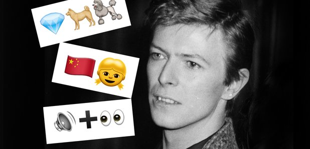 QUIZ: Guess The David Bowie Song Title From The Emoji - Radio X