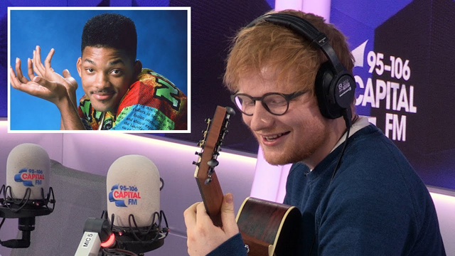 Ed Sheeran Covers 'The Fresh Prince' Theme Tune - Capital FM