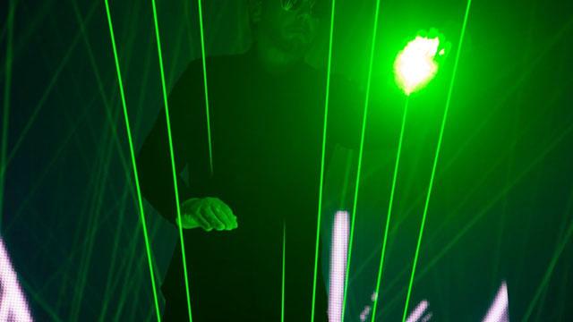 Jean-Michel Jarre - The Time Machine Live (Laser Harp)