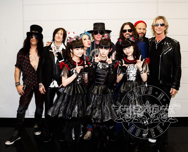 Guns N' Roses and BABYMETAL