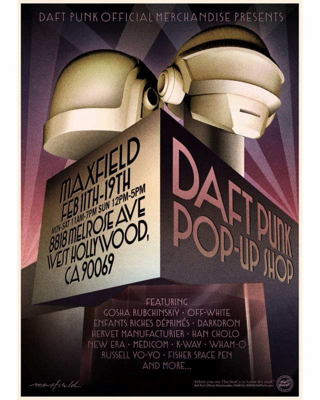 Daft Punk Pop-Up Shop