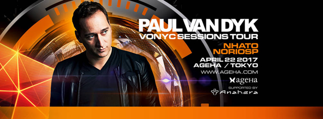 ageHa Presents PAUL VAN DYK VONYC SESSIONS TOUR in TOKYO