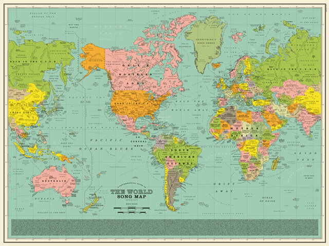 World Song Map - Dorothy