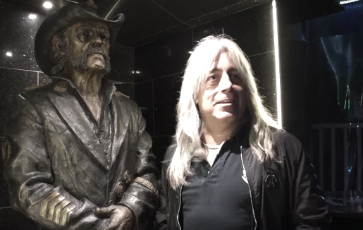 Mikkey Dee and Lemmy Kilmister Statue