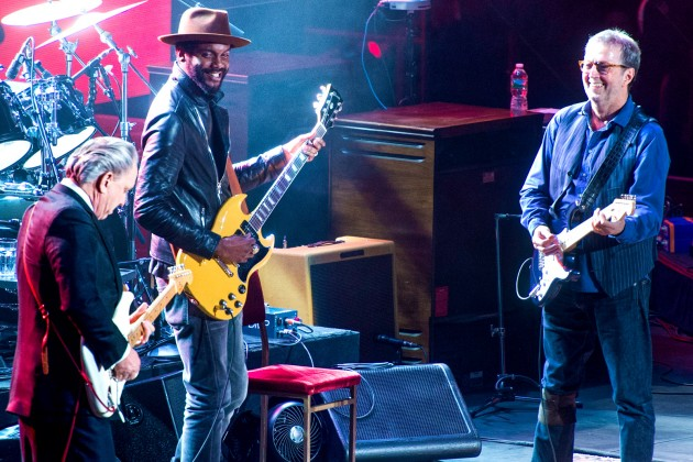 Eric Clapton with Gary Clark, Jr. & Jimmie Vaughan
