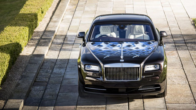 Rolls-Royce Wraith 'Inspired by British Music'