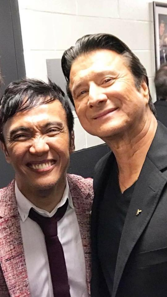 Steve Perry and Arnel Pineda