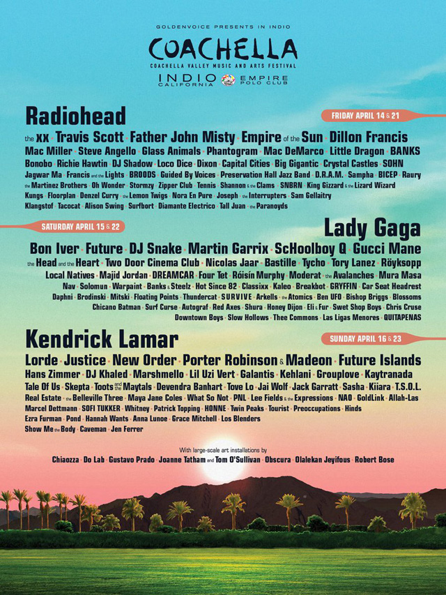 Coachella Valley Music And Arts Festival 2017