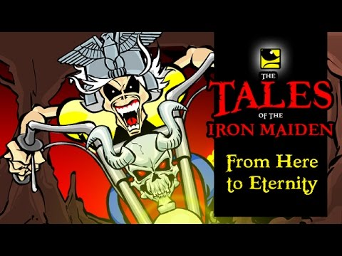 The Tales Of The Iron Maiden - FROM HERE TO ETERNITY - MaidenCartoons Val Andrade