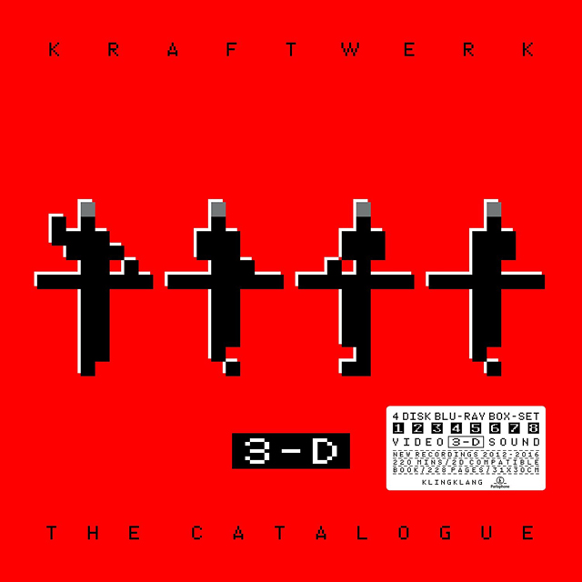 Kraftwerk / 3-D The Catalogue [BLU-RAY AND BOOK DELUXE BOX]