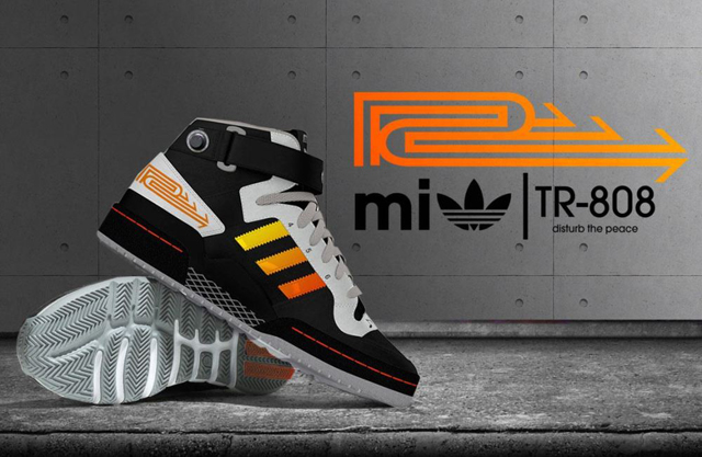 Mi Adidas TR-808 shoes