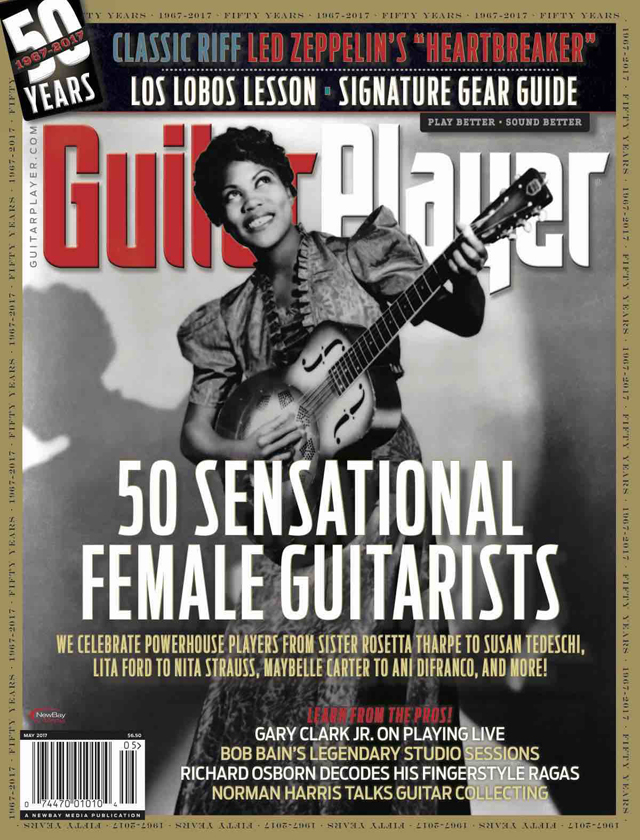 Guitar Player - 50 Sensational Female Guitarists