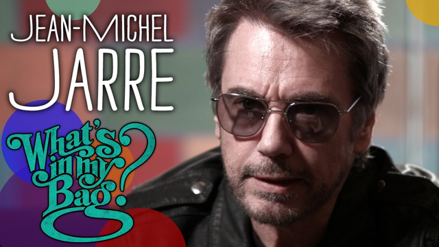 Jean-Michel Jarre - What's in My Bag? - Amoeba