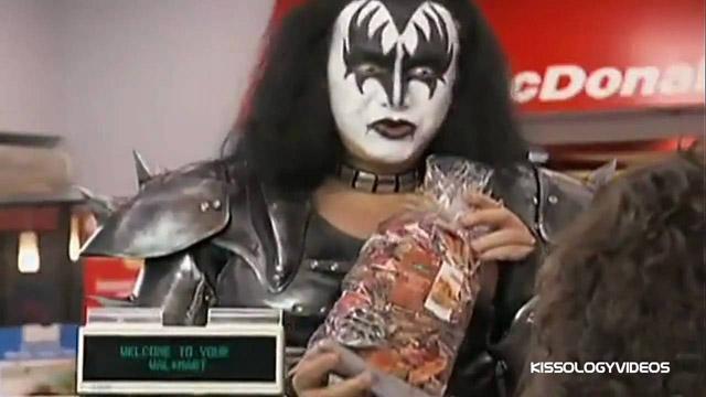 KISS Works At Wal-Mart