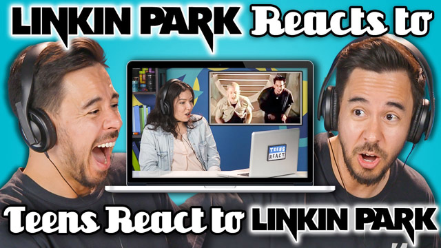 LINKIN PARK REACTS TO TEENS REACT TO LINKIN PARK - FBE